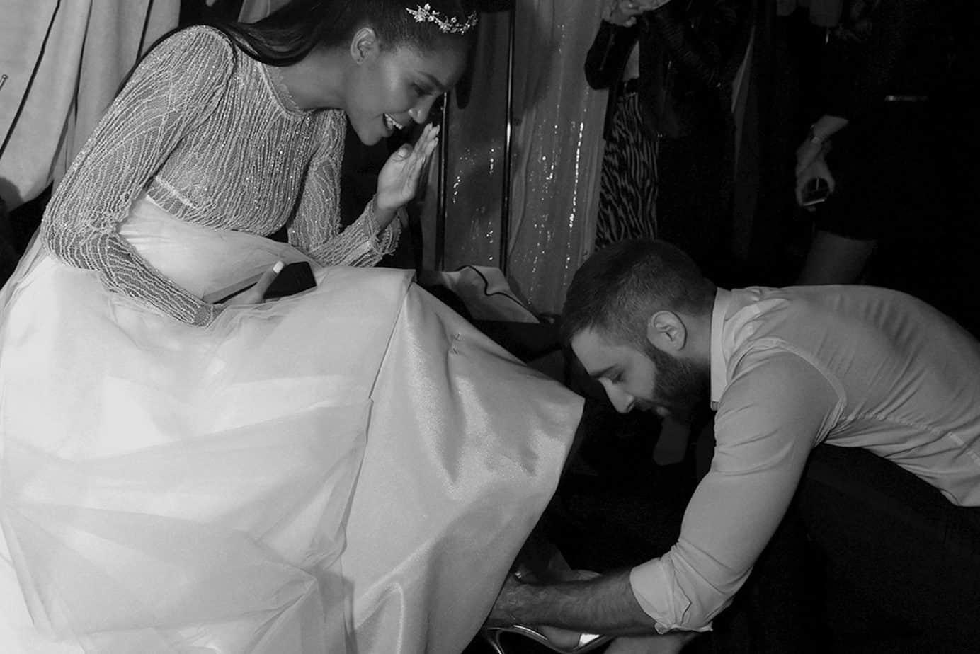 טיטי איינאו בשמלת כלה של שאדי עבד, אופנה, חדשות אופנה, כתבות אופנה, Fashiom Magazine, Fashion, Efifo ,מגזין אופנה, מגזין אופנה ישראלי, מגזיני אופנה ישראלים-