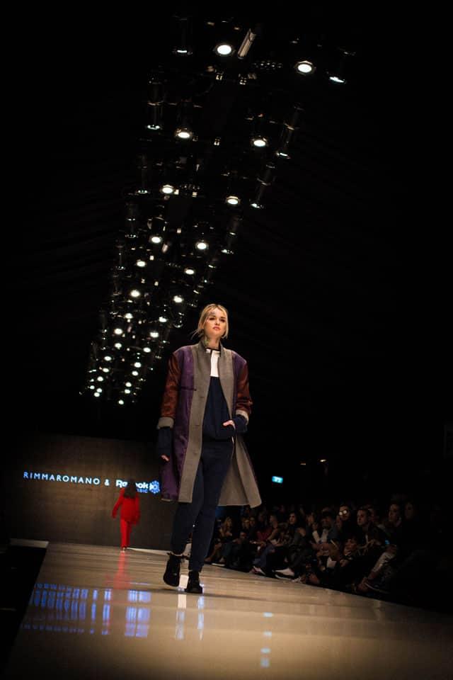 תצוגת אופנה של רימה רומנו. שבוע האופנה תל אביב 2018. צילום: יונתן אזולאי - 1