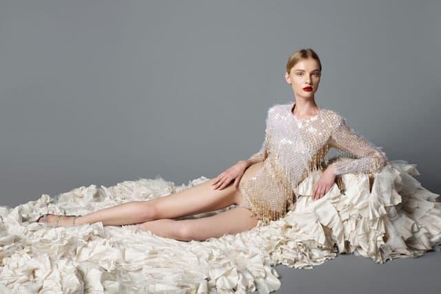 שמלה של ים יאגודייב. צילום: גיא נחום לוי
