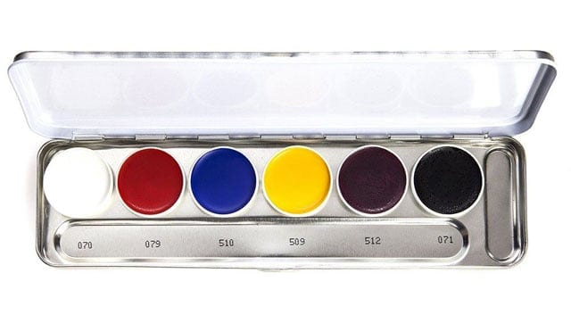 פלטת צבעי שמן - Kryolan