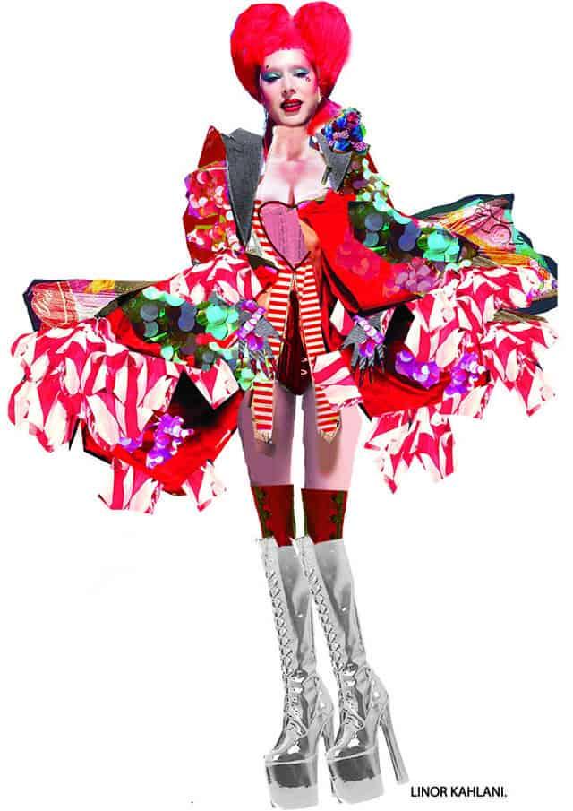 לינור קהלני, המחלקה לעיצוב אופנה בשנקר מחזור 2018