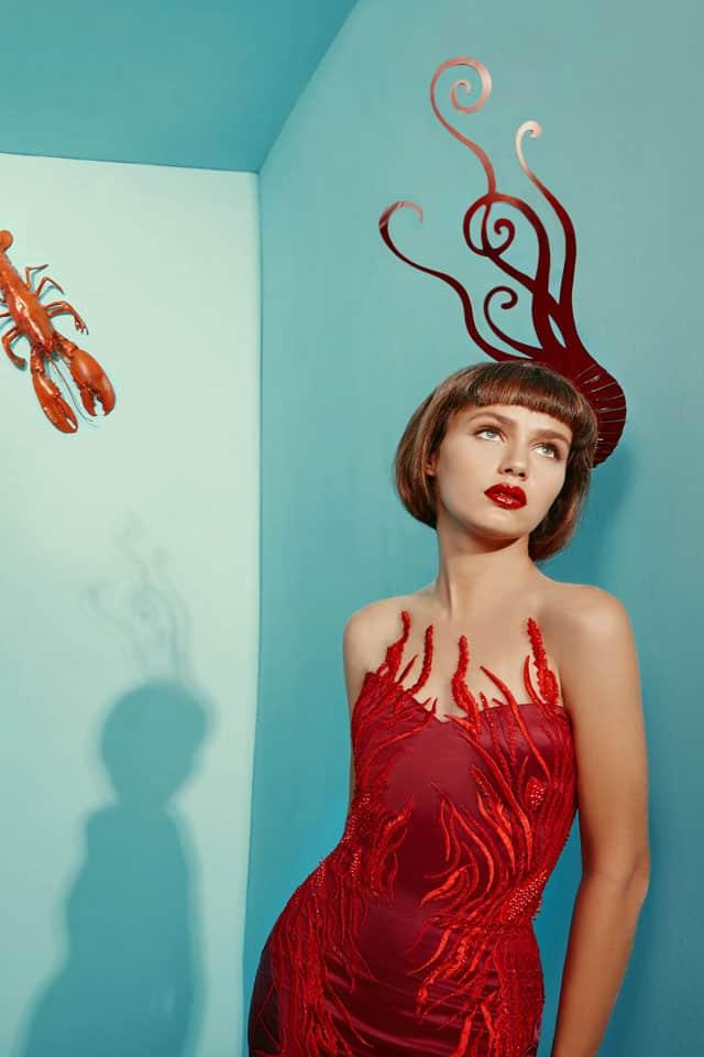 בצילום: שמלה של מאור צבר. צילום: הילה שייר - 8