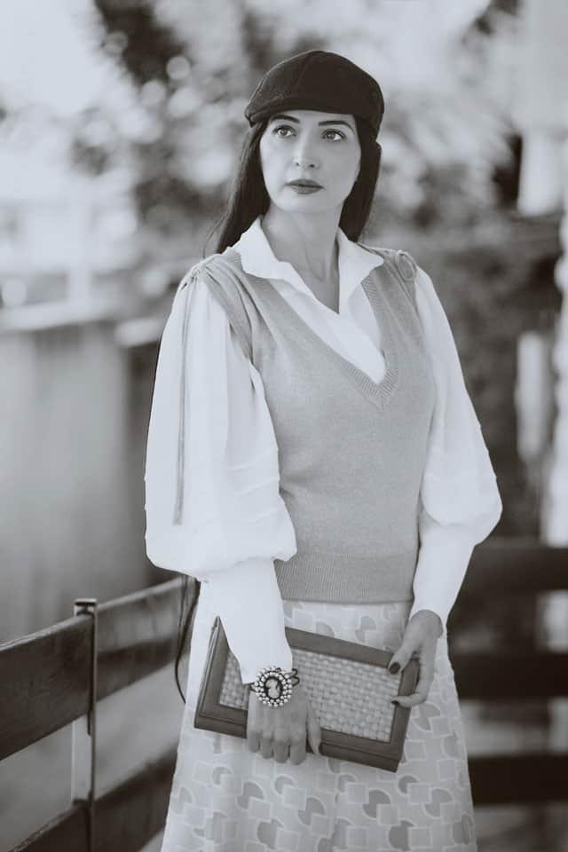 מאיה אושרי כהן, אופנת וינטג׳. צילום: גנדי צודיק - 2