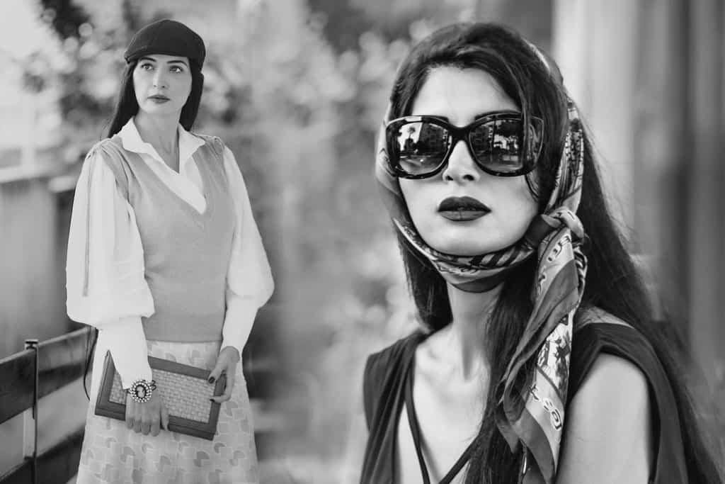מאיה אושרי כהן, אופנת וינטג׳. צילום: גנדי צודיק - 81