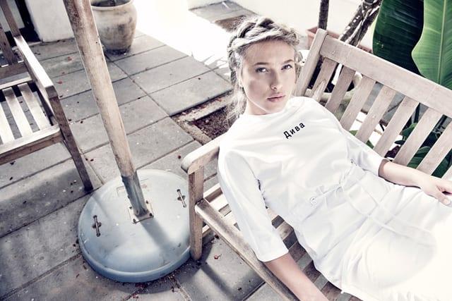 בצילום: ״אברבנאל״. החצר. עיצוב אופנה: מבל קיי - 1