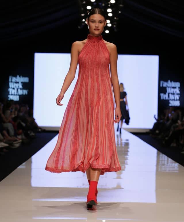 שבוע האופנה תל אביב. מוריאל דז'דטי. צילום: אבי ולדמן-2
