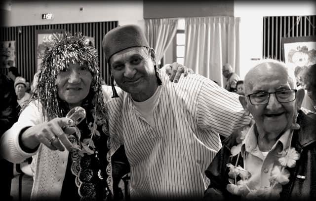 פורים 2018. צילומי מסיבת פורים של קשישים במרכז גונדה. צילום: יונתן אזולאי - 3