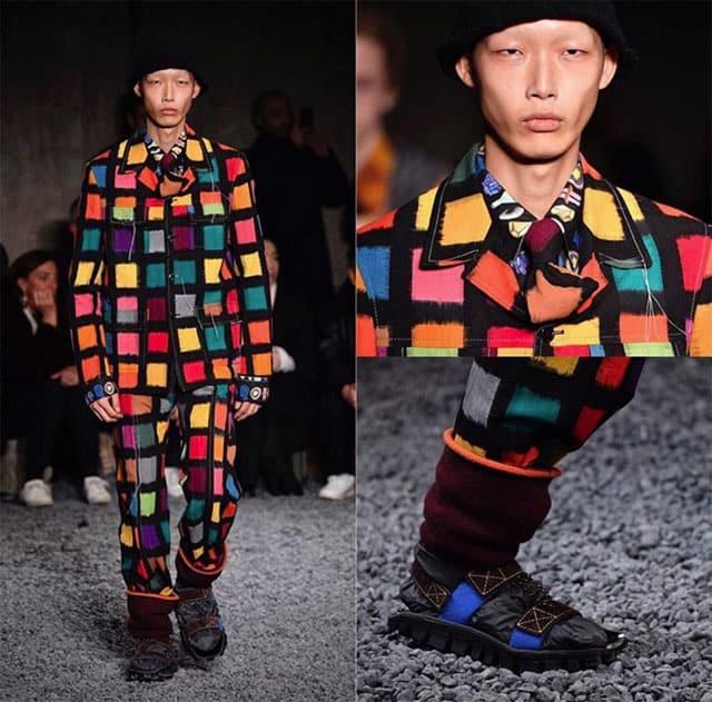שבוע האופנה לגברים מילאנו. מרני. צילום: אינסטגרם