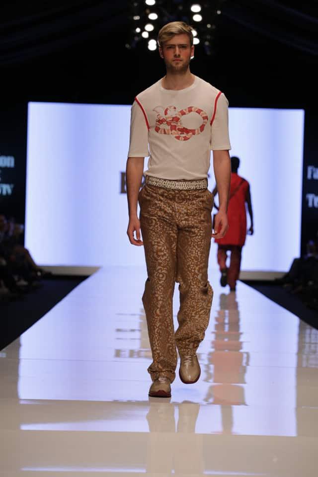 מתוך תצוגת האופנה של ערן שני עם המותג ERRANT. צילום: יח״צ