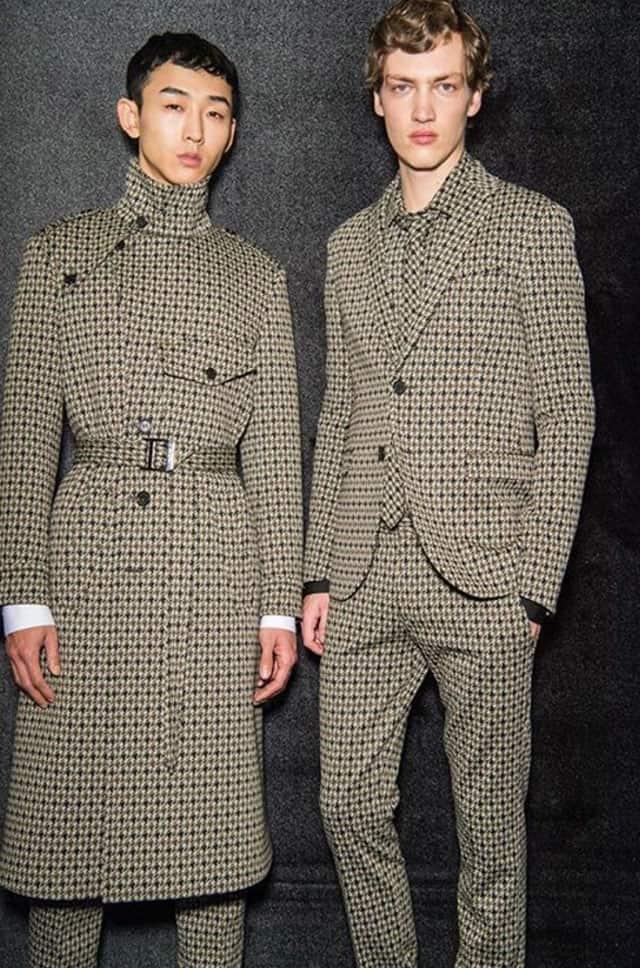 המחויט. תצוגת אופנה של ניל ברט בשבוע האופנה לגברים מילאנו 2018. צילום: אינסטגרם
