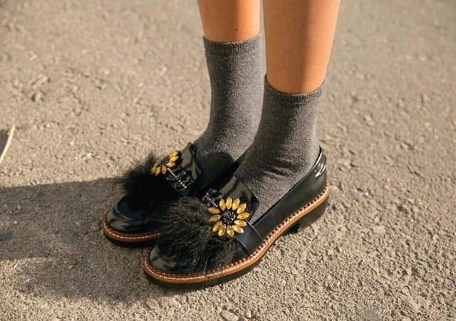 נעליים: זארה גרביים: פוקס