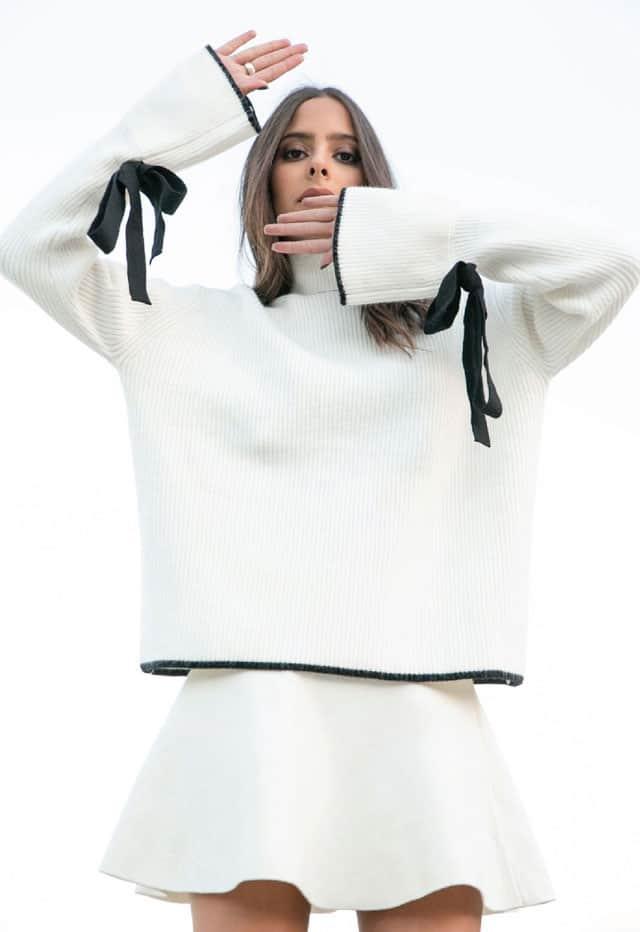 סריג: מארי 88 פאשן, חצאית: זארה