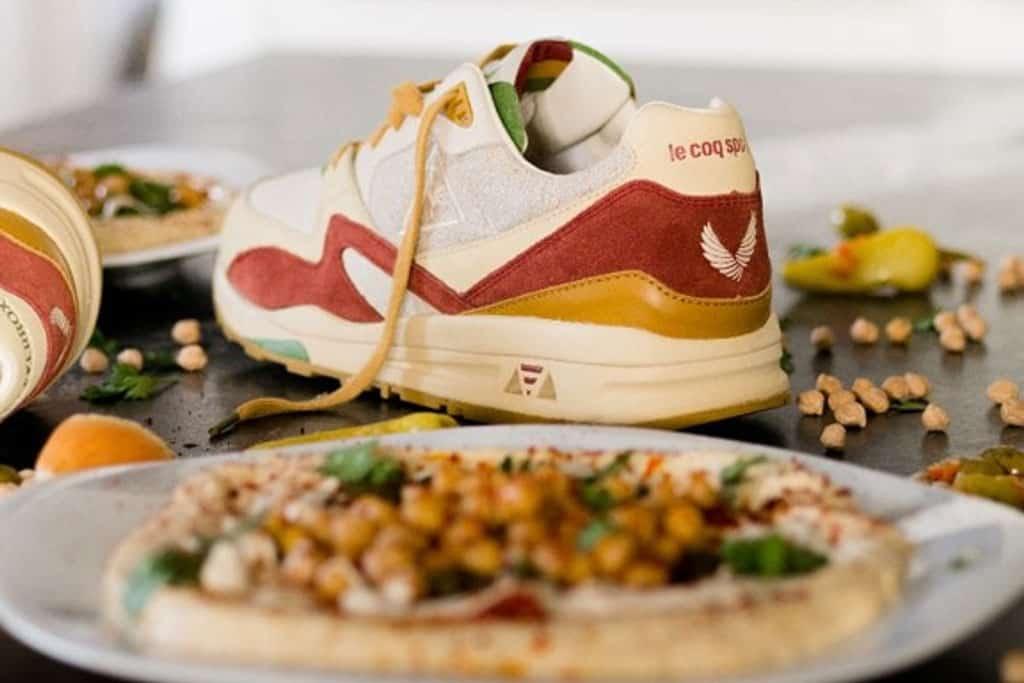 SneakerBox & le Coq Sportif. נעל חומוס. צילום: לה קוק ספורטיף - 1