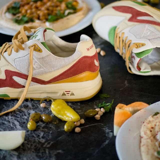 SneakerBox & le Coq Sportif. נעל חומוס. צילום: לה קוק ספורטיף - 3