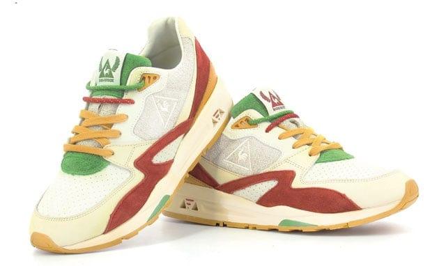 SneakerBox & le Coq Sportif. נעל חומוס. צילום: לה קוק ספורטיף -