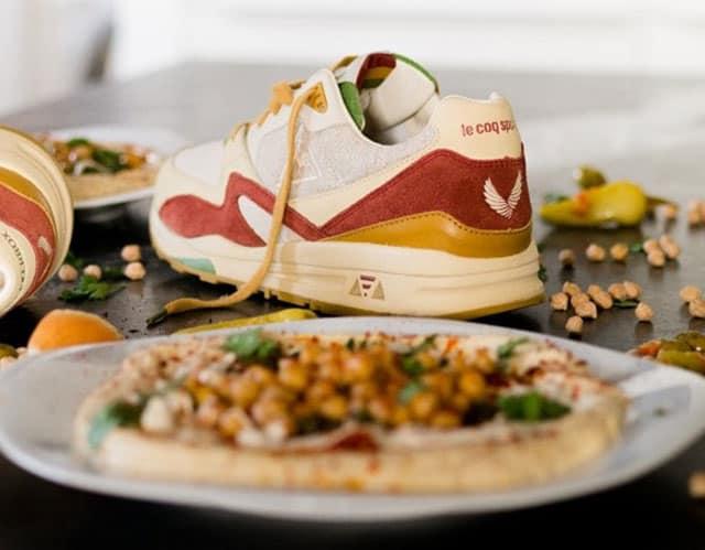 SneakerBox & le Coq Sportif. נעל חומוס. צילום: לה קוק ספורטיף - 2