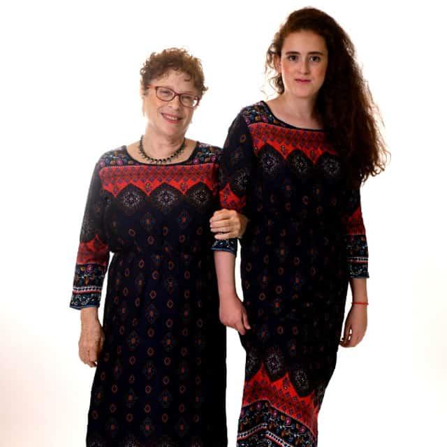 נעמי גוטקינד-גולן . צילום רשת ביג שופ, אופנה לדתיות, אופנה צנועה