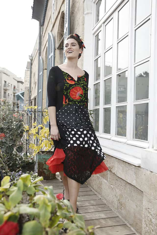 שמלה של נפרטיטי. צילום דביר כחלון