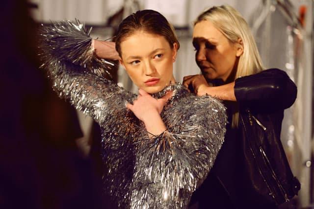 תצוגת האופנה של אביתר מייאור. שבוע האופנה תל אביב 2018. צילום: עומר רביבי-4
