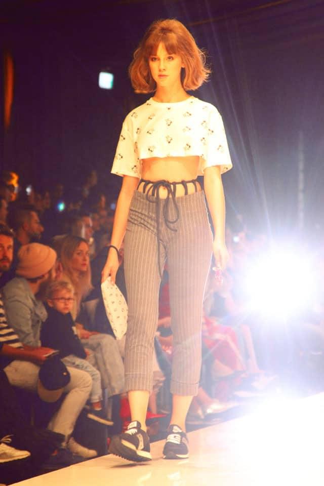 ליליה בתצוגת אופנה של מעוז דהאן. שבוע האופנה תל אביב 2018. צילום: עומר רביבי-1