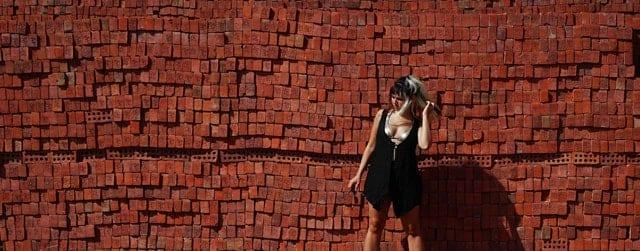 בתמונה: עבודה של עידו מלר ולינה ציביאן -
