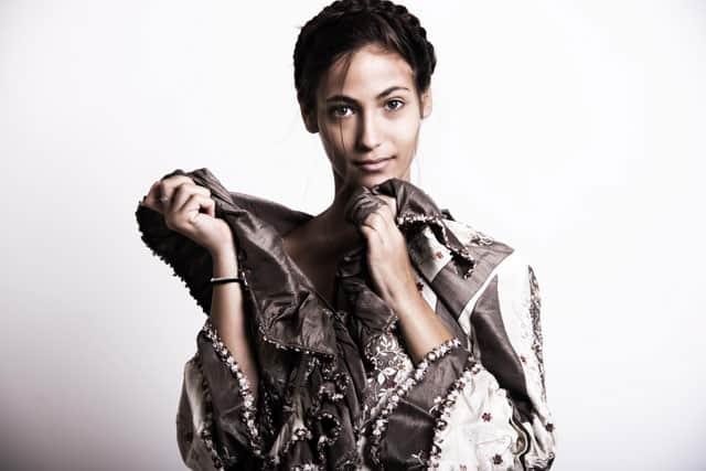 הדוגמנית ענבר יעקבי. צילום: סולל פיקל
