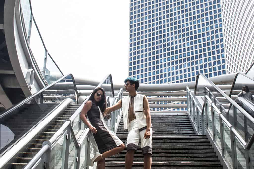 עצמאות 2018: עיצוב אופנה: שלי ראביי, צילום ועריכה: הילה פיש, דוגמנים: סער כהן ועמית דרעי. Efifo - מגזין האופנה של ישראל - 5