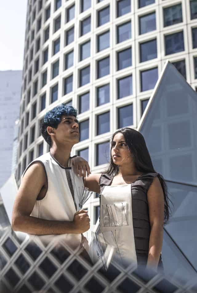 עצמאות 2018: עיצוב אופנה: שלי ראביי, צילום ועריכה: הילה פיש, דוגמנים: סער כהן ועמית דרעי. Efifo - מגזין האופנה של ישראל - 3