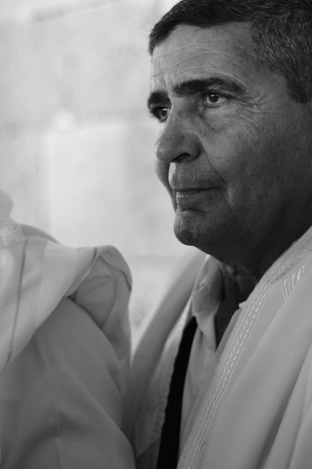 בצילום: ״אבא״. פורטרט. צילום: מיטל אזולאי