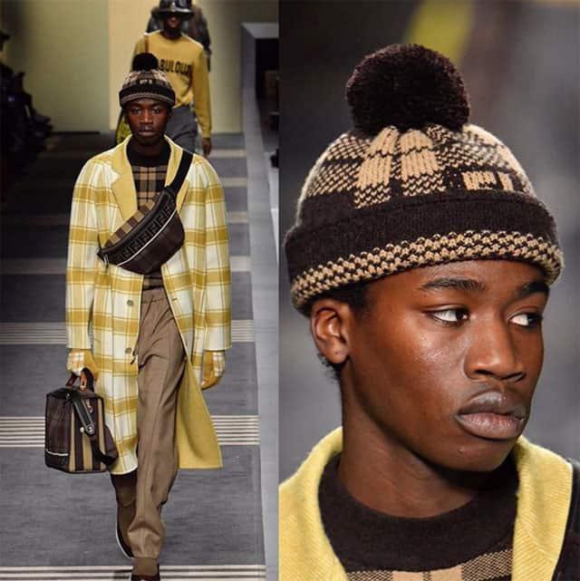 שבוע האופנה לגברים מילאנו. פנדי. צילום: אינסטגרם