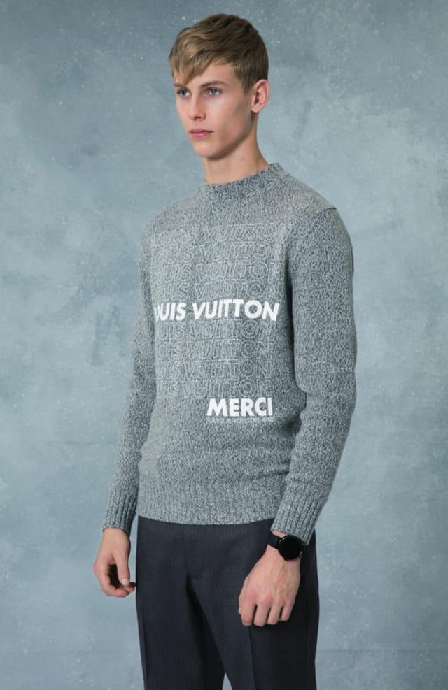 קולקציית בגדי הגברים לחורף 2018-2019 ל-Louis Vuitton בעיצובו של המנהל האמנותי קים ג'ונס. צילום: לואי ויטון מלטייר, אופנת גברים, בגדי גברים, אופנה, מגזין אופנה, מגזין אופנה ישראלי - 6