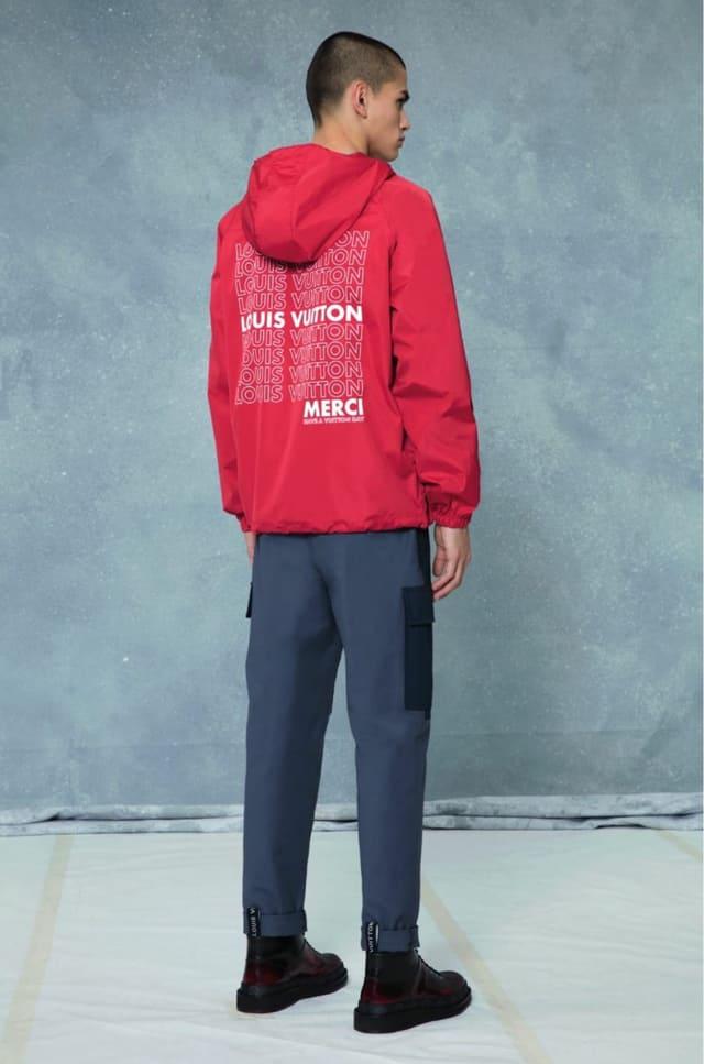 קולקציית בגדי הגברים לחורף 2018-2019 ל-Louis Vuitton בעיצובו של המנהל האמנותי קים ג'ונס. צילום: לואי ויטון מלטייר, אופנת גברים, בגדי גברים, אופנה, מגזין אופנה, מגזין אופנה ישראלי - 5