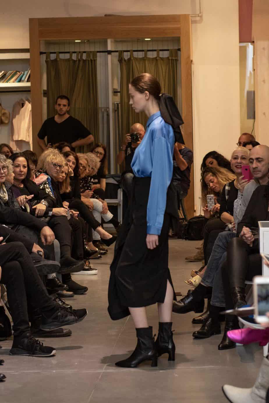קום איל פו. תצוגת אופנה סתיו חורף 208-19. צילום: יניב לוי -12
