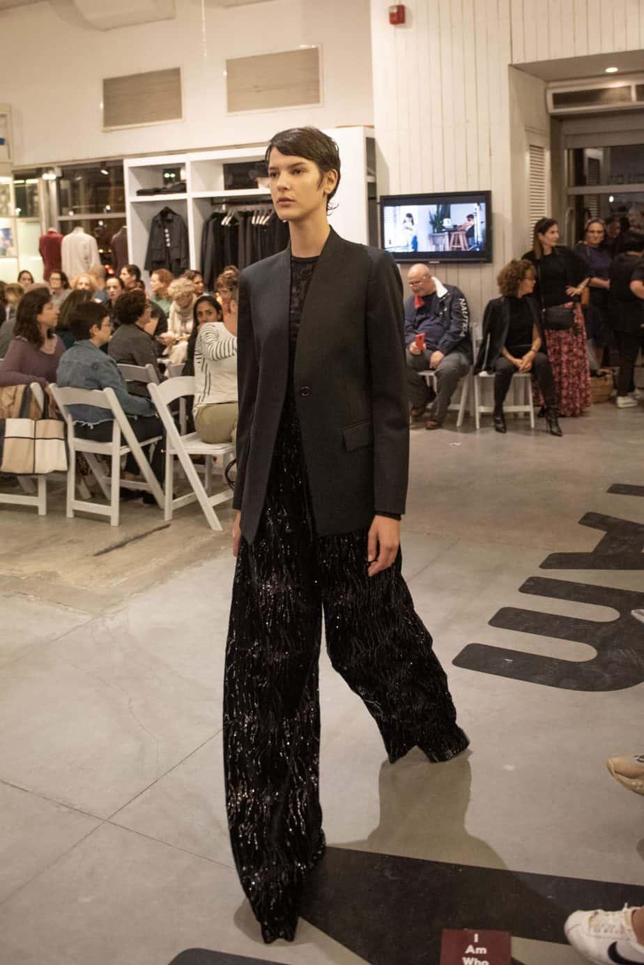 קום איל פו. תצוגת אופנה סתיו חורף 208-19. צילום: יניב לוי -5