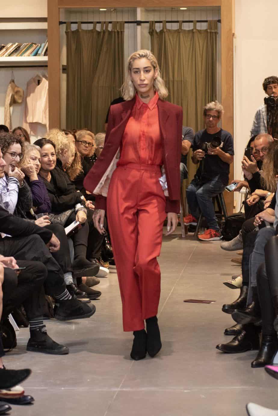 קום איל פו. תצוגת אופנה סתיו חורף 208-19. צילום: יניב לוי -8