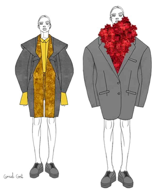 קורלי גת, המחלקה לעיצוב אופנה בשנקר מחזור 2018