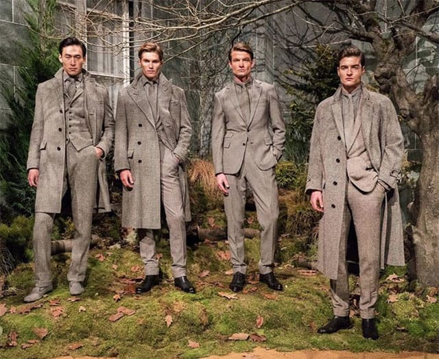 המחויט. תצוגת אופנה של ראלף לורן בשבוע האופנה לגברים מילאנו 2018. צילום: אינסטגרם