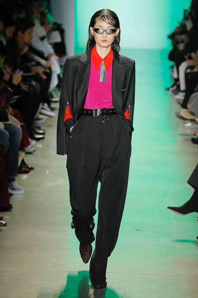 אדם סלמאן. שבוע אופנה ניו יורק 2018