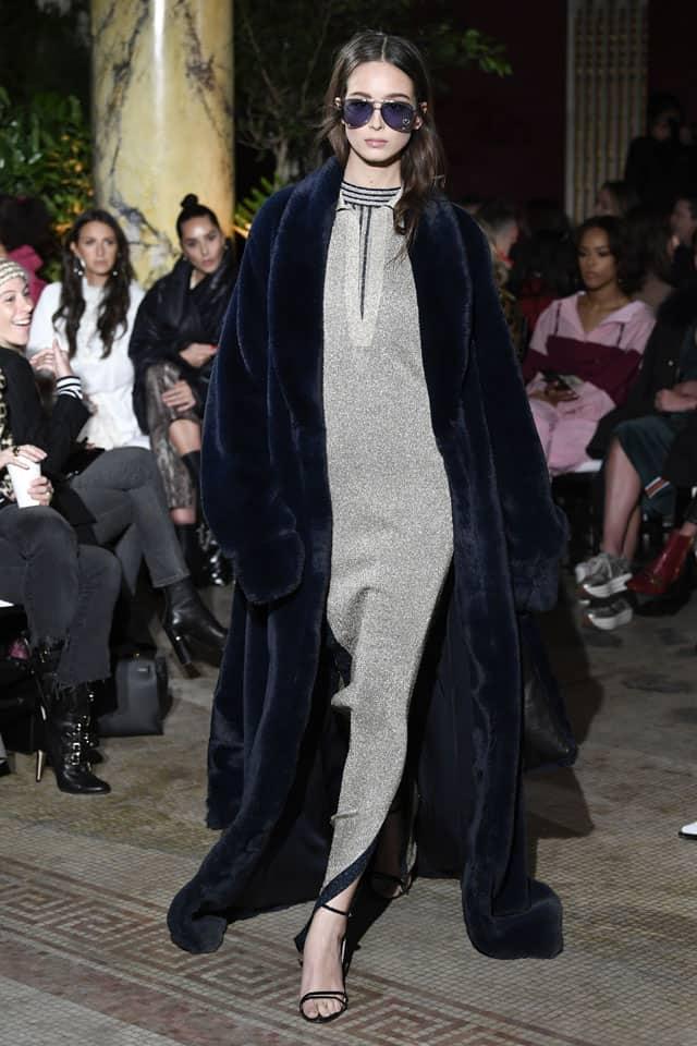 ג'וסי קוטור. שבוע אופנה ניו יורק 2018. צילום: אינסטגרם