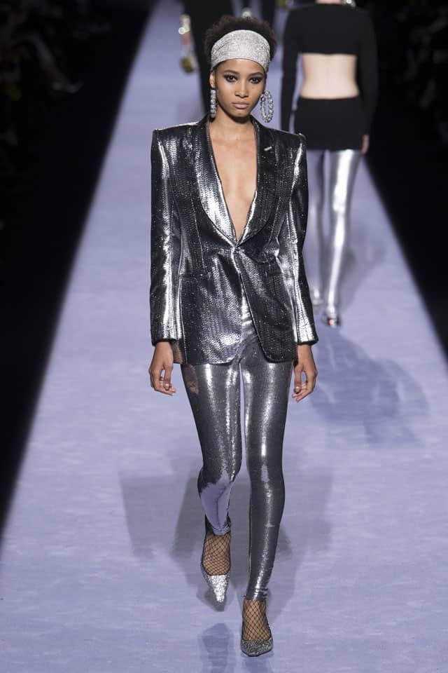 טום פורד. שבוע אופנה ניו יורק 2018