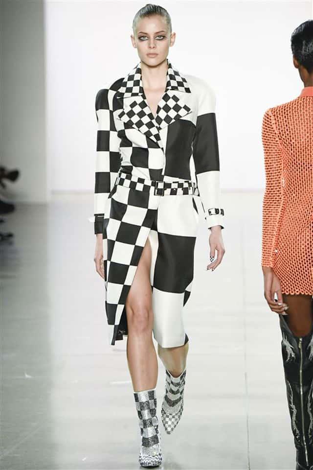 כריסטיאם קוואן. שבוע אופנה ניו יורק 2018