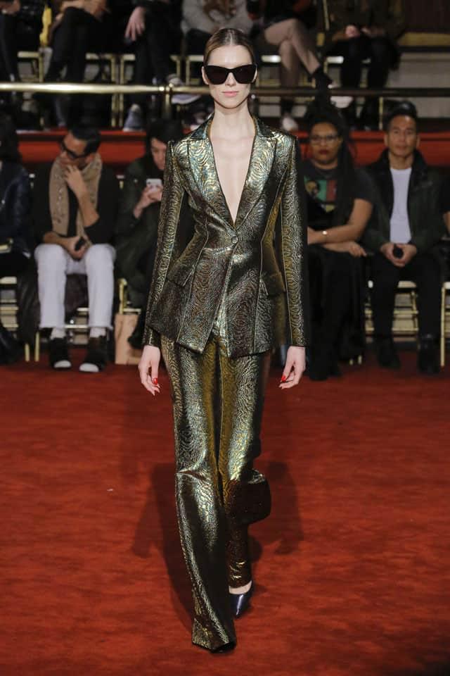 כריסטיאן סיריאנו. שבוע אופנה ניו יורק 2018