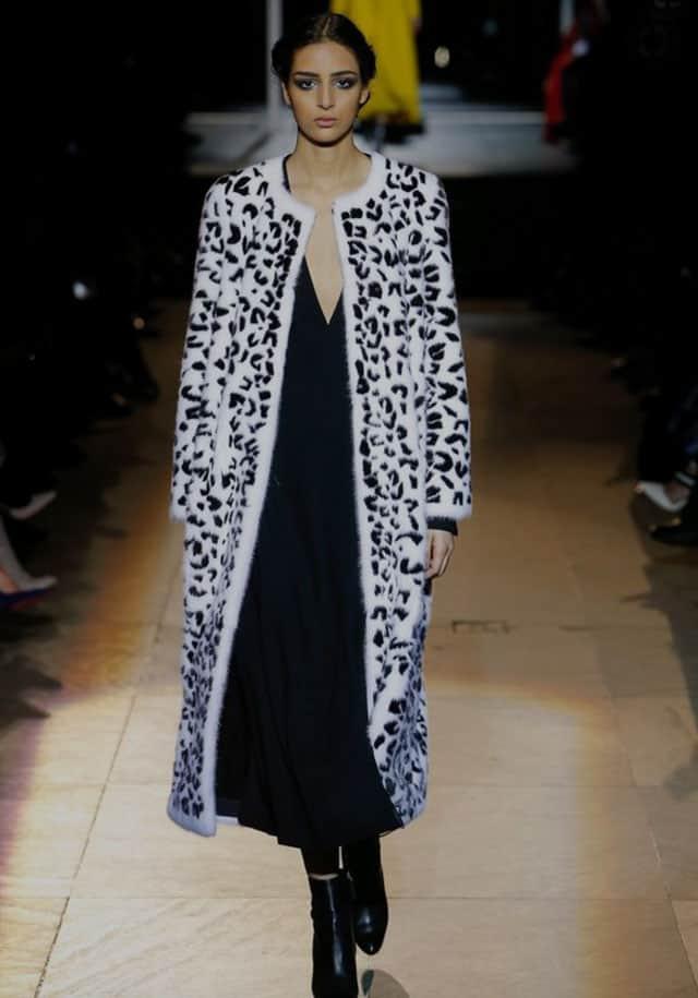 קרולינה הררה. שבוע אופנה ניו יורק 2018. צילום: פינטרסט