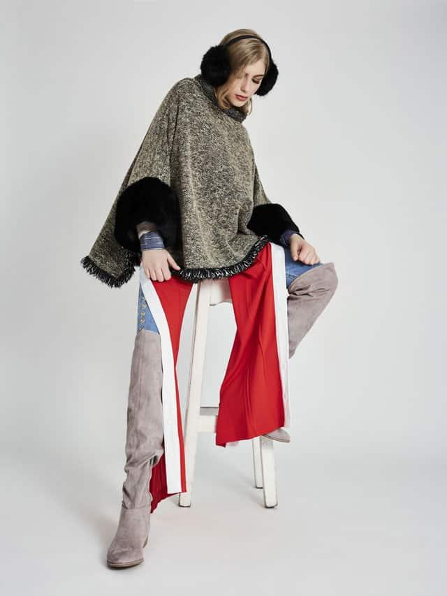 צילום: שילת מזרחי, סטיילינג: עומרי הררי, איפור: אירית סדרה, עיצוב שיער: ירין לוי, דוגמנית: רבקה ווג ל-MC2, אפיפו מגזין אופנה - 5