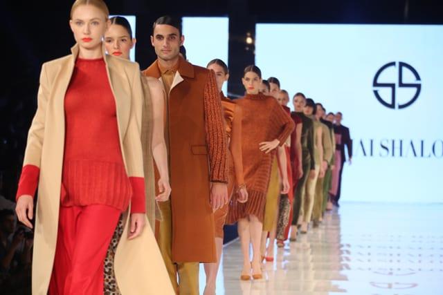 בצילום: שי שלום. שבוע האופנה גינדי תל אביב. סתיו-חורף 2014. צילום: אבי ולדמן