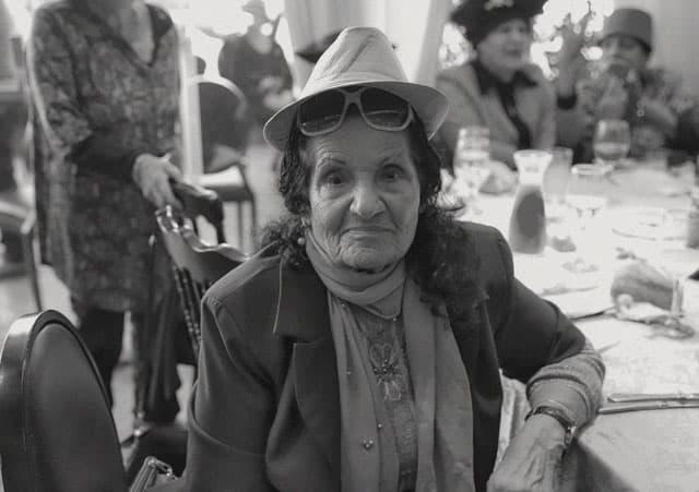 פורים 2018: מסיבת תחפושות של קשישים משכונת עזרא ומשכונת התקווה. צילום: מיטל אזולאי - 15