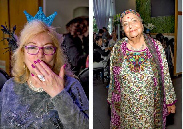 פורים 2018: מסיבת תחפושות של קשישים משכונת עזרא ומשכונת התקווה. צילום: מיטל אזולאי - 16