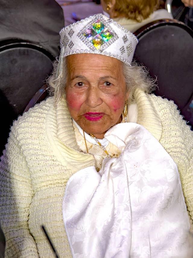 פורים 2018: מסיבת תחפושות של קשישים משכונת עזרא ומשכונת התקווה. צילום: מיטל אזולאי - 19