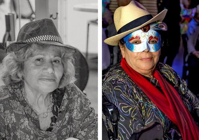 פורים 2018: מסיבת תחפושות של קשישים משכונת עזרא ומשכונת התקווה. צילום: מיטל אזולאי - 7