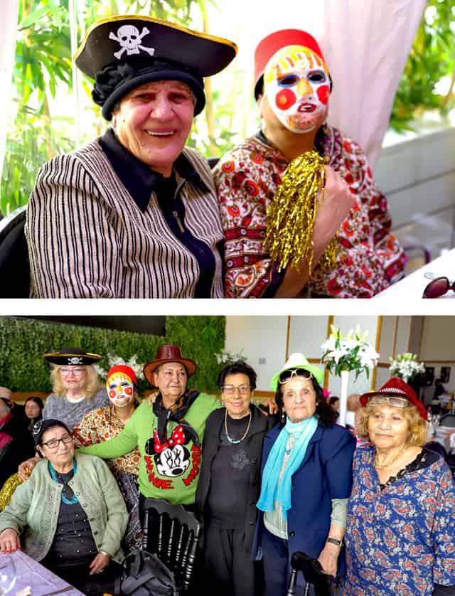 פורים 2018: מסיבת תחפושות של קשישים משכונת עזרא ומשכונת התקווה. צילום: מיטל אזולאי - 8